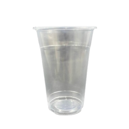 16oz Smooth Surface Plastic Cold Cup - PACK100/CTN2000 (100PCS X 20PACK)
